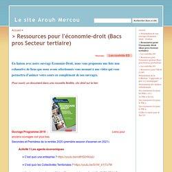 Mises à jour et compléments en Economie-droit - Le site Arouh Mercou