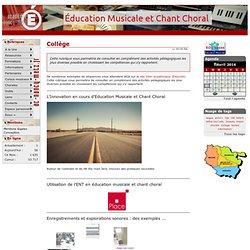 Collège Ressources - Education Musicale et Chant Choral