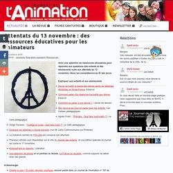 Attentats du 13 novembre : des ressources éducatives pour les animateurs