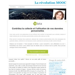 MOOC : à la quête de ressources éducatives libres