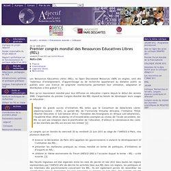 Premier congrès mondial des Ressources Educatives Libres (REL)