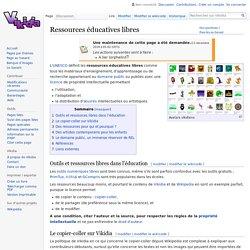 Ressources éducatives libres