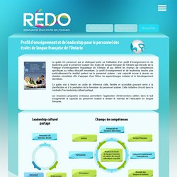 RÉDO - Ressources éducatives de l'Ontario