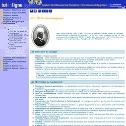 Gestion des Ressources Humaines : Encadrement d'équipes