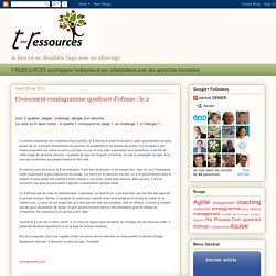 T-Ressources: Croisement ennéagramme quadrant d'ofman : le 2