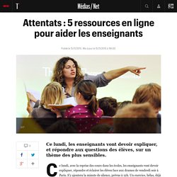 Attentats : 5 ressources en ligne pour aider les enseignants