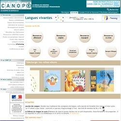 ressources pour l'enseignement des langues à l'école primaire