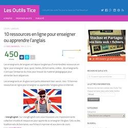 10 ressources en ligne pour enseigner ou apprendre l'anglais