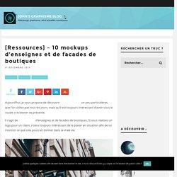 [Ressources] - 10 mockups d'enseignes et de facades de boutiques