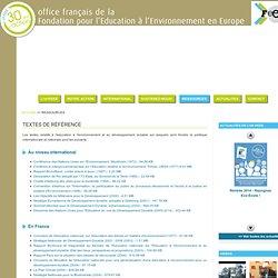 of-FEEE - office français de la Fondation pour l'Education à l'Environnement en Europe