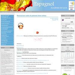 Ressources audio et podcast (liens utiles) - Site académique d'espagnol