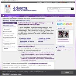 Programme, ressources et évaluation - Suivi et évaluation à l'école maternelle