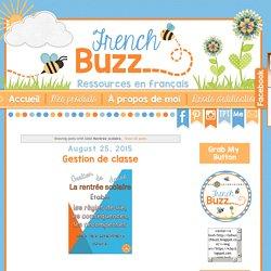 French Buzz - ressources en français: Rentrée scolaire