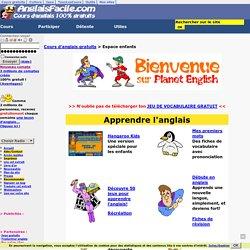 Section enfants - Ressources pour apprendre l'anglais gratuitement