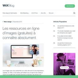 Les ressources en ligne d'images (gratuites) à connaître - Wix