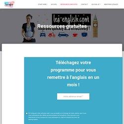 Ressources gratuites – Lea-english