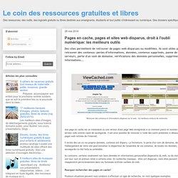 Le coin des ressources gratuites et libres: mai 2014