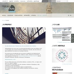 ressources histoiredesarts - Culture.fr