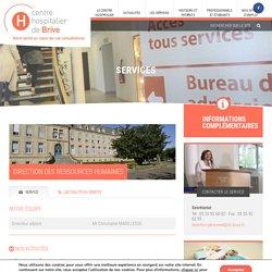 Direction des Ressources Humaines - Centre Hospitalier de Brive