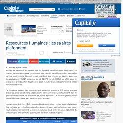 Ressources Humaines : les salaires plafonnent