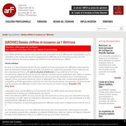 [ARCHIVE] : Données chiffrées et ressources sur l'illettrisme