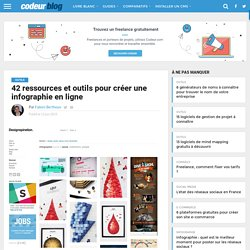 42 ressources et logiciels pour créer une infographie