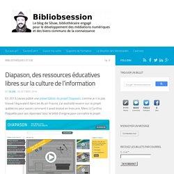 Diapason, des ressources éducatives libres sur la culture de l'information -
