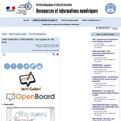 OPEN SANKORE & OPEN BOARD : des logiciels de TBI libres - [Ressources et informations TICE]