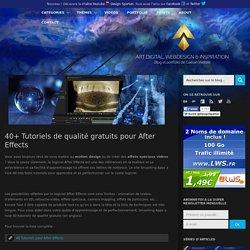 40+ Tutoriels de qualité gratuits pour After Effects