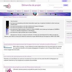 Accueil - Ressources institutionnelles