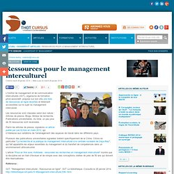 Ressources pour le management interculturel