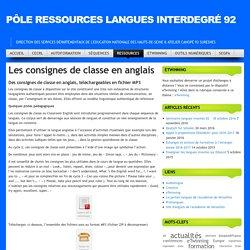 Pôle Ressources Langues Interdegré 92