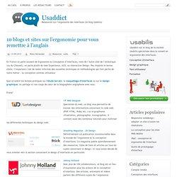 10 blogs et sites sur l'ergonomie pour vous remettre à l'anglais