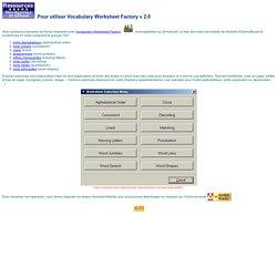 Ressources - Jeux de mots à l'école - Exemples VWF2