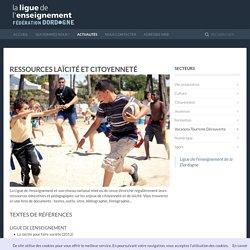 Ressources laïcité et citoyenneté - Ligue de l'enseignement