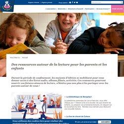 Des ressources autour de la lecture pour les parents et les enfants