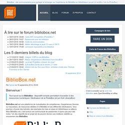 BiblioBox - Ressources et aides et astuces pour BiblioBox, LibraryBox, PirateBox