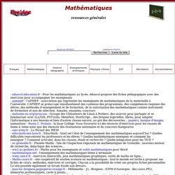 ressources mathématiques