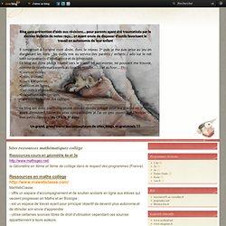 Sites ressources mathématiques collège - Le blog de Nathalie Sabourin