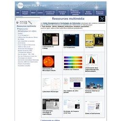Observatoire de Paris : Ressources multimédia