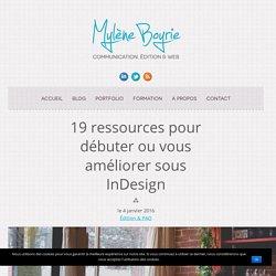19 ressources InDesign pour vous aider à bien débuter Myleneboyrie.fr