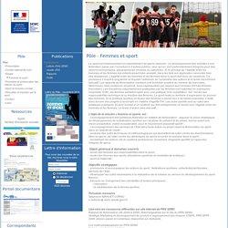 le site du Pôle ressources national SEMC - Pôle - Femmes et sport