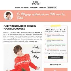 Ressources de Noel pour blogueuses