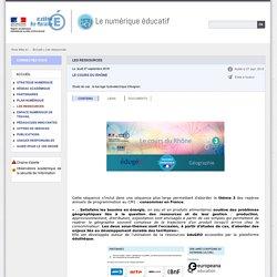 Les ressources - Le numérique éducatif