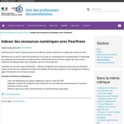 Indexer des ressources numériques avec Pearltrees