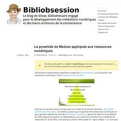 La pyramide de Maslow appliquée aux ressources numériques