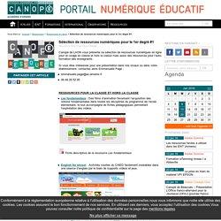 Sélection de ressources numériques pour le 1er degré #1 - Portail TICE