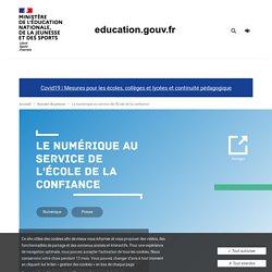 Banque de ressources numériques pour les cycles 3 et 4 - L'école change avec le numérique