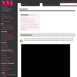 Scratch — Centre de Ressources Numériques - Labomedia