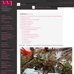 PirateBox — Centre de Ressources Numériques - Labomedia